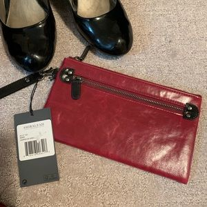 Deep Berry Wristlet Purse